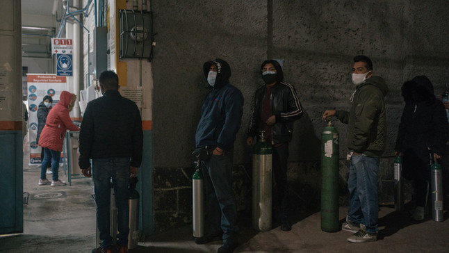 An Oxygen Shortage in Mexico City Exposes Mistrust in Hospitals, Fuels Black Market Activity