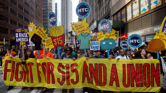 The Fight For and Against a $15 Minimum Wage: A Massachusetts Perspective