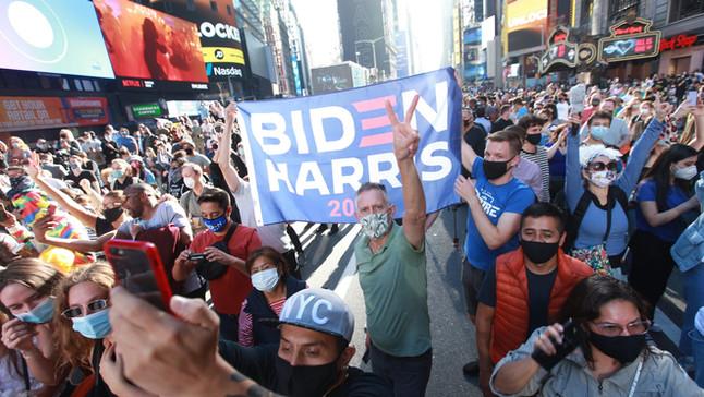 Biden's Victory: How Has American Responded?