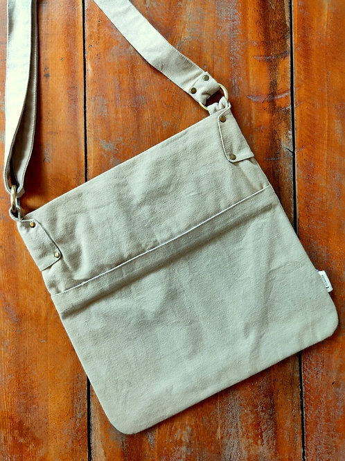 Square Bag-5 - Beige