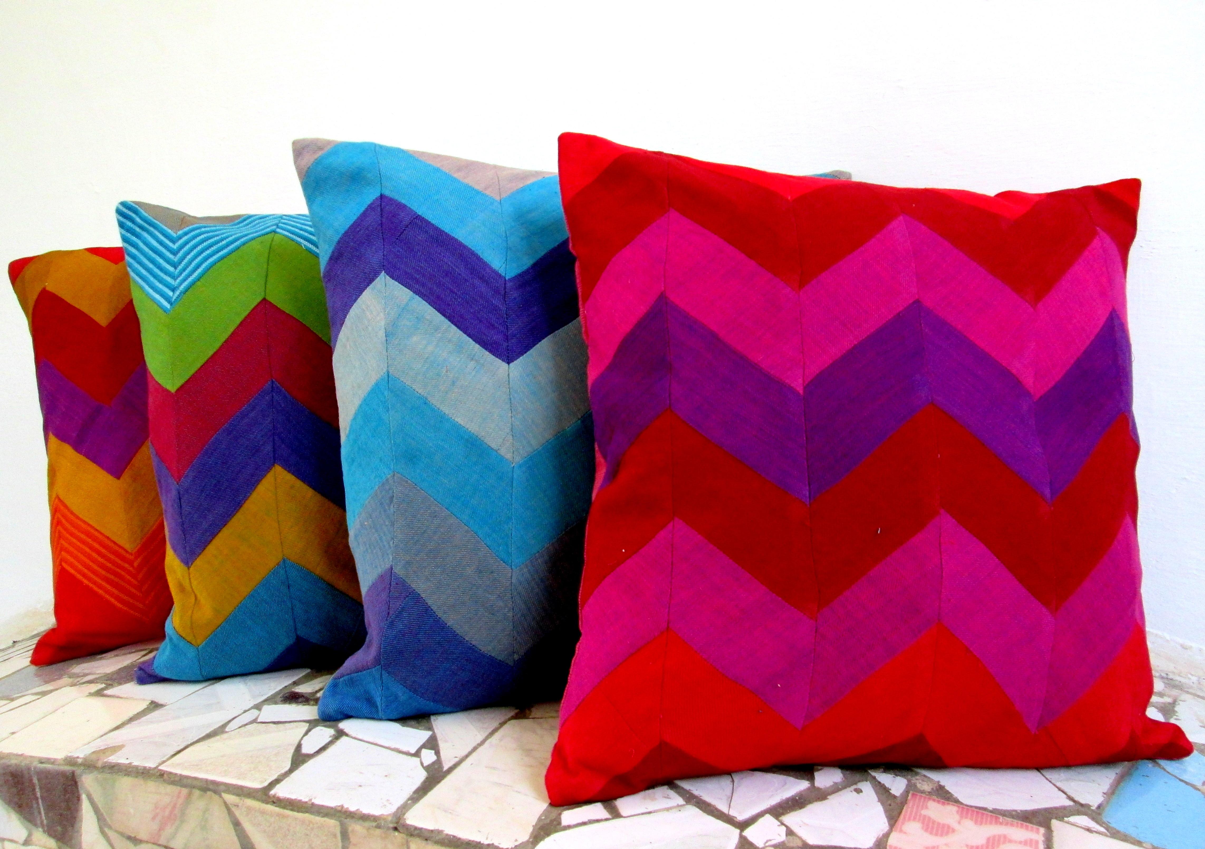 Cushion Cover Patchwork Zigzag(CCPZ)
