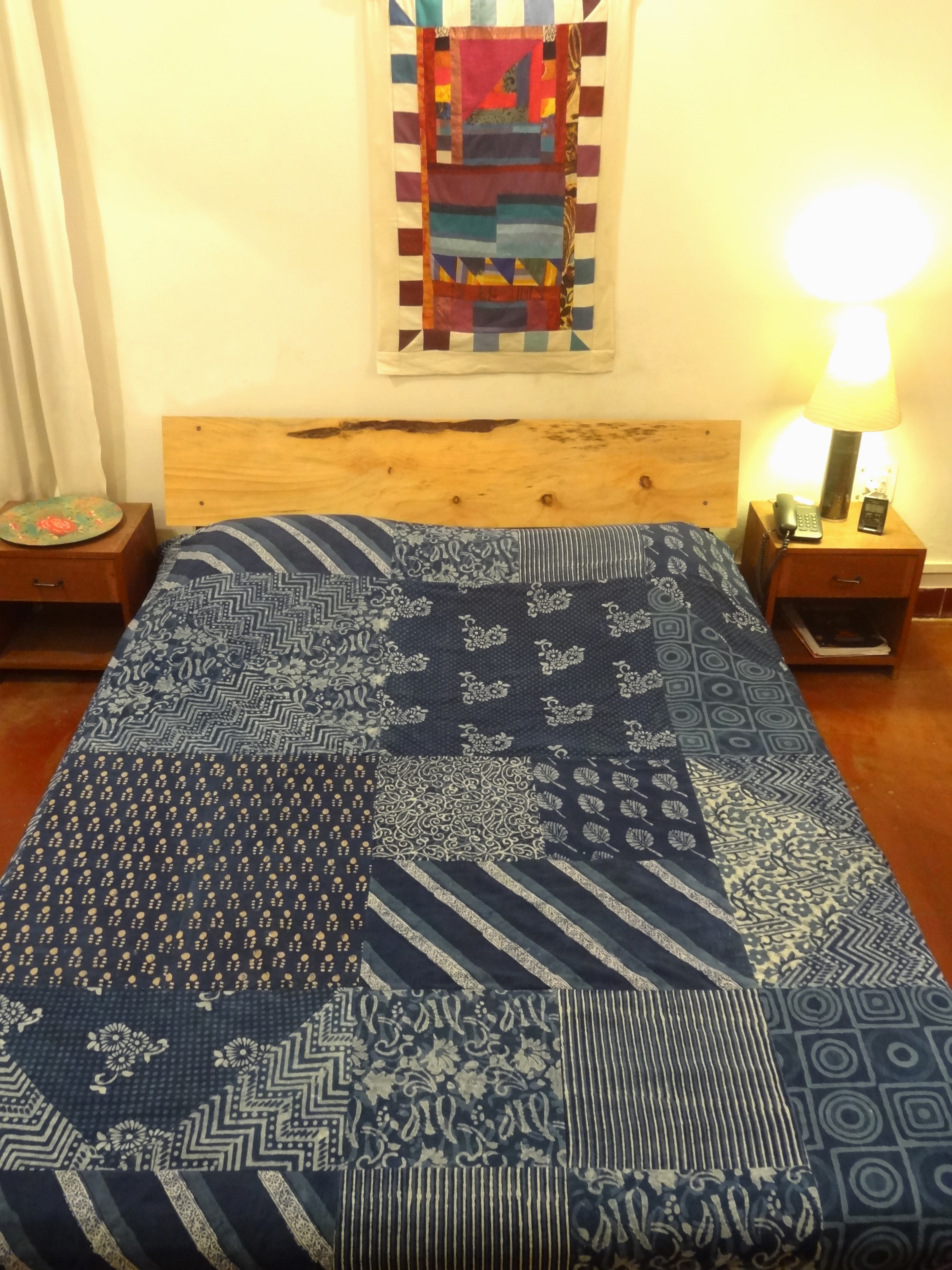 Bed Cover Bagru Patchwork (BCBP) Double
