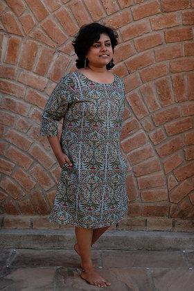 Mughal Bouquet Reversible Dress
