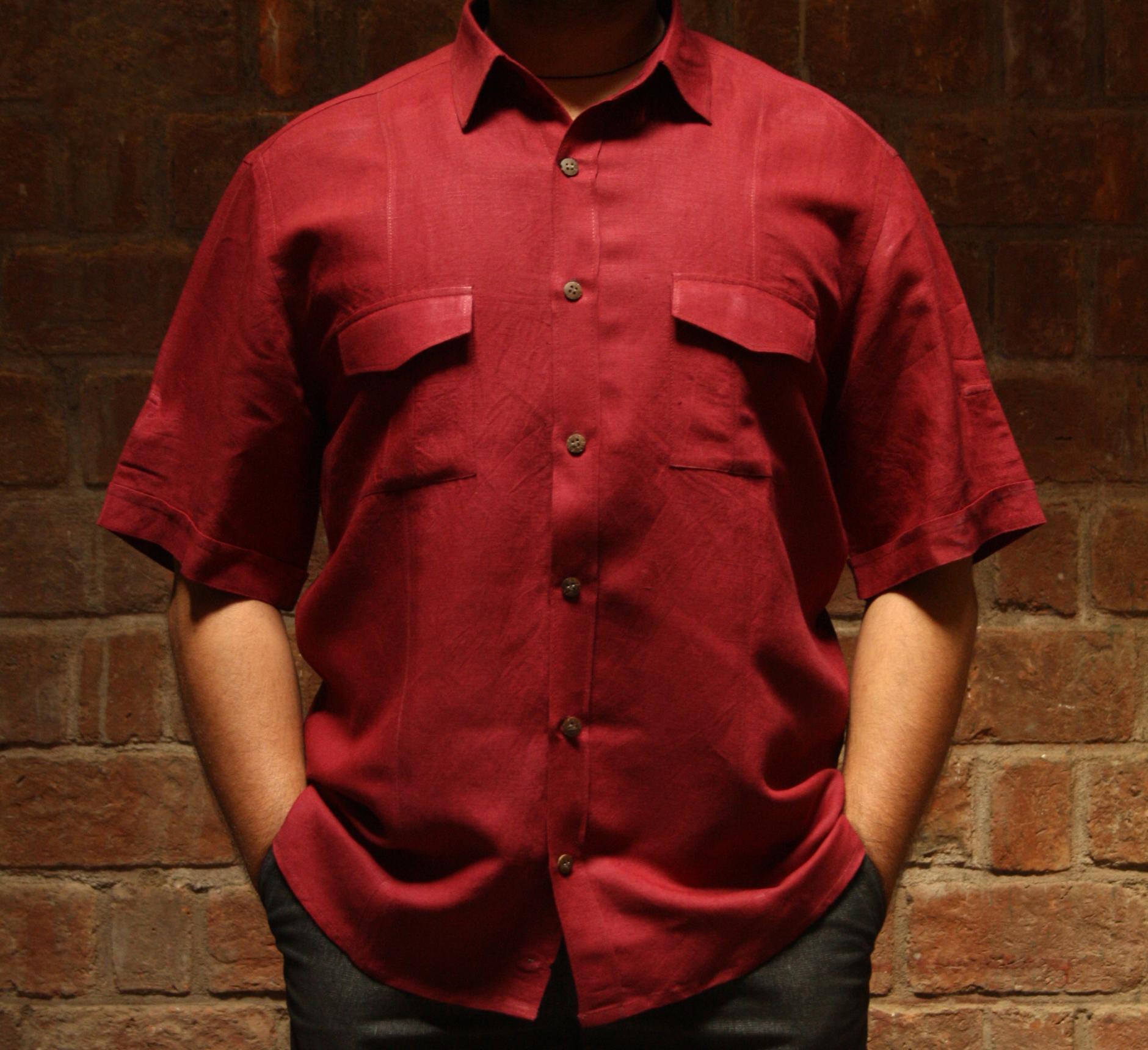 Shirt Half Sleeve Linen (SHSL) 2