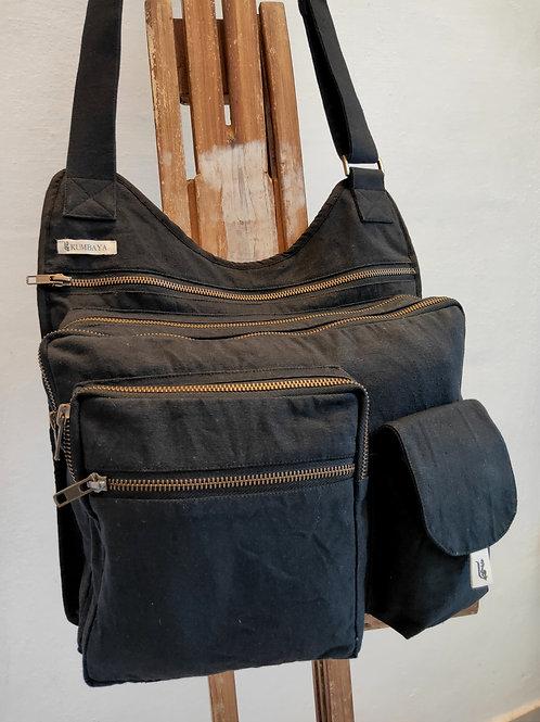 Multi Pocket Bag - Black