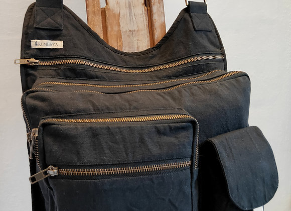 Multi Pocket Bag - Black