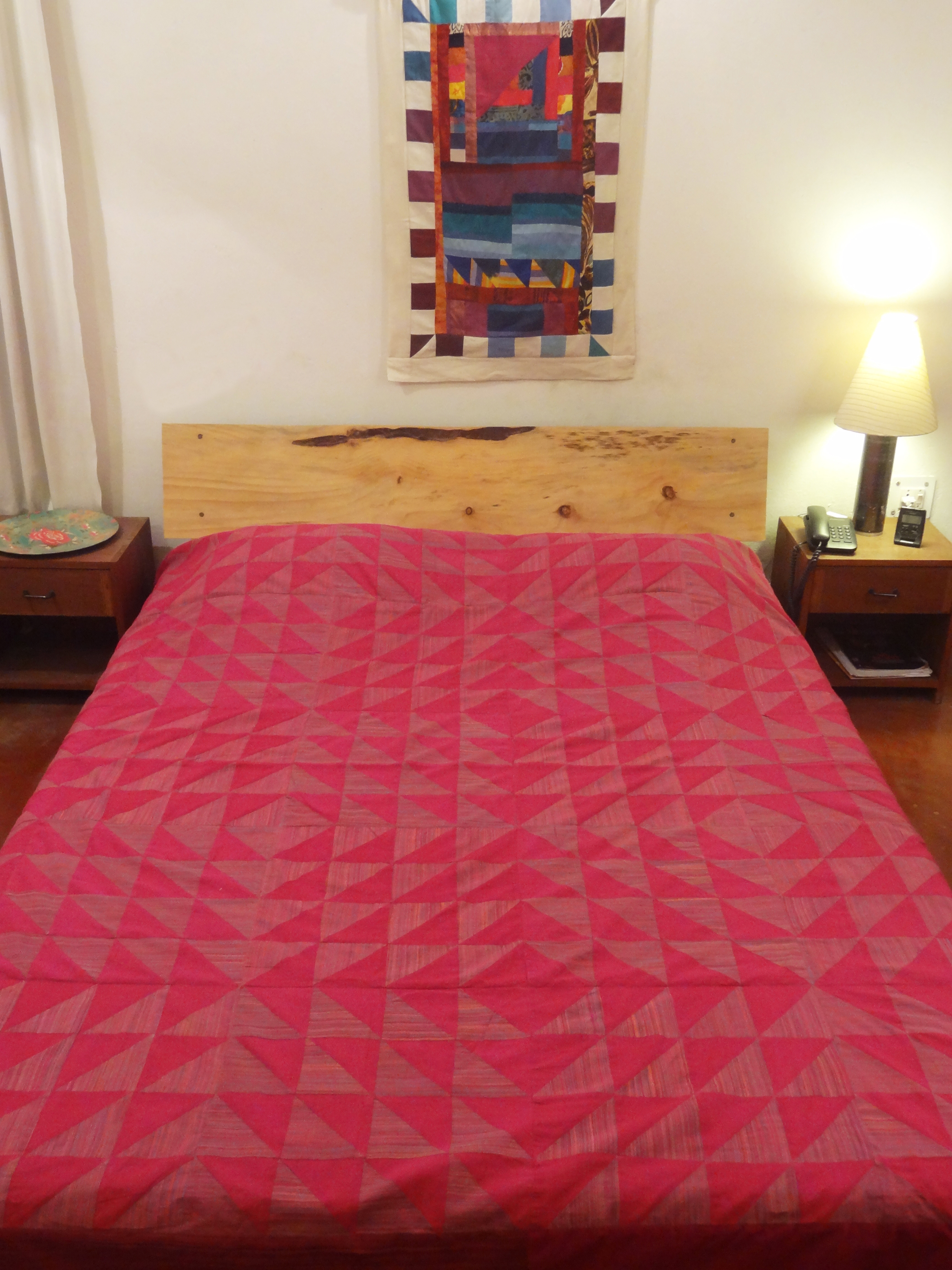 Bed Cover  Triangle Patchwork (BCTP)