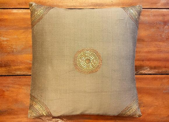 Ari Embroidery Sequin Cushion Cover