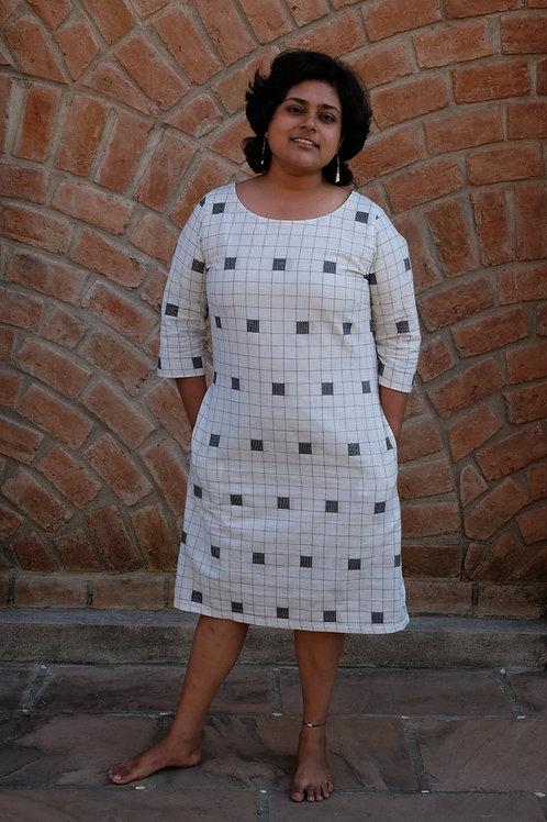 Stripes and Squares Dress