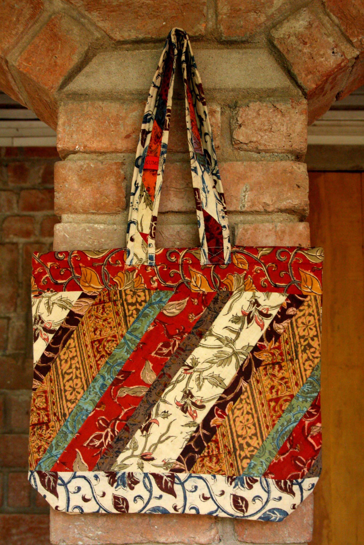 Tote Bag (TB) Kalamkari Patchwork