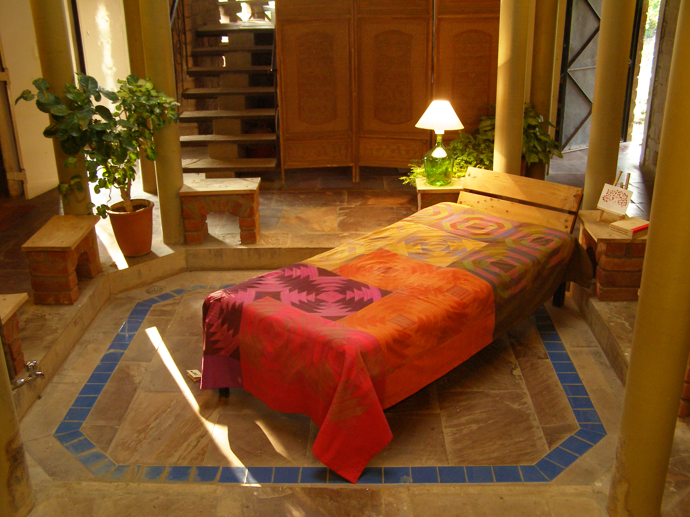 Bed Cover Pineapple Patchwork (BCPP) Single