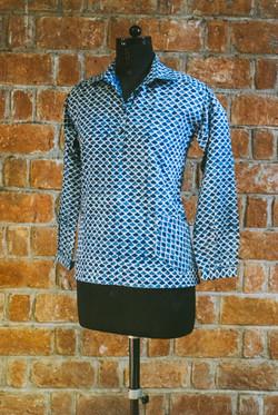 Ladies Shirt Hip Pockets