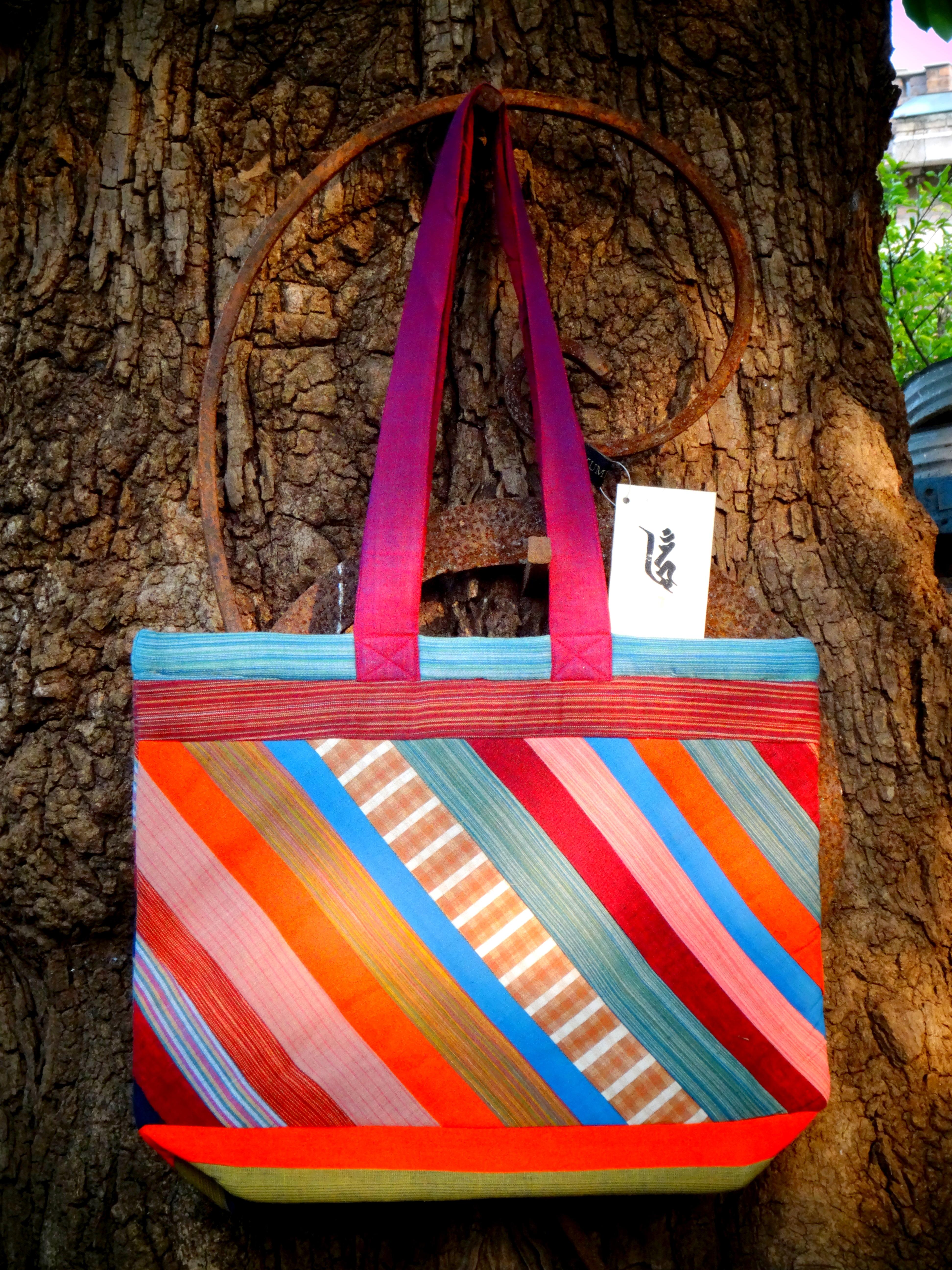 Tote Bag Handloom Patchwork (TB)
