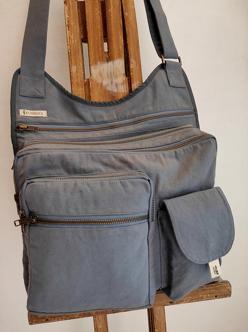 Multi Pocket Bag - Steel Grey