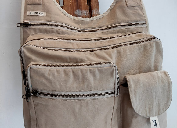 Multi Pocket Bag - Beige