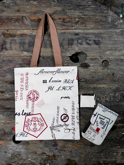 Rectangle Tote Bag Set