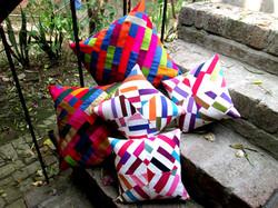 Cushion Cover Bricks Patchwork (CCP)