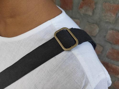 Square Bag 5 - Black