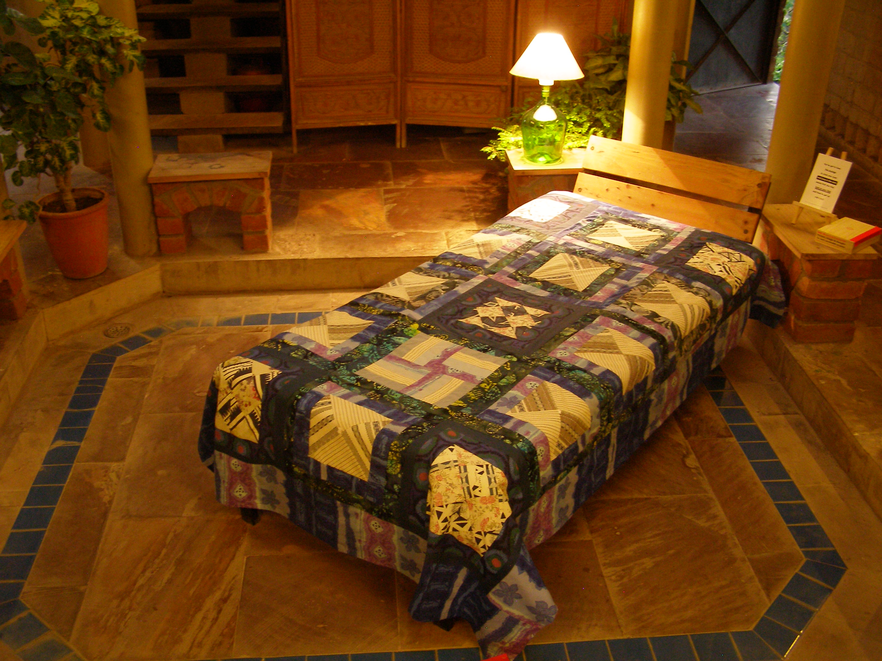 Bed Cover Patchwork (BCP) Cotton Print Single