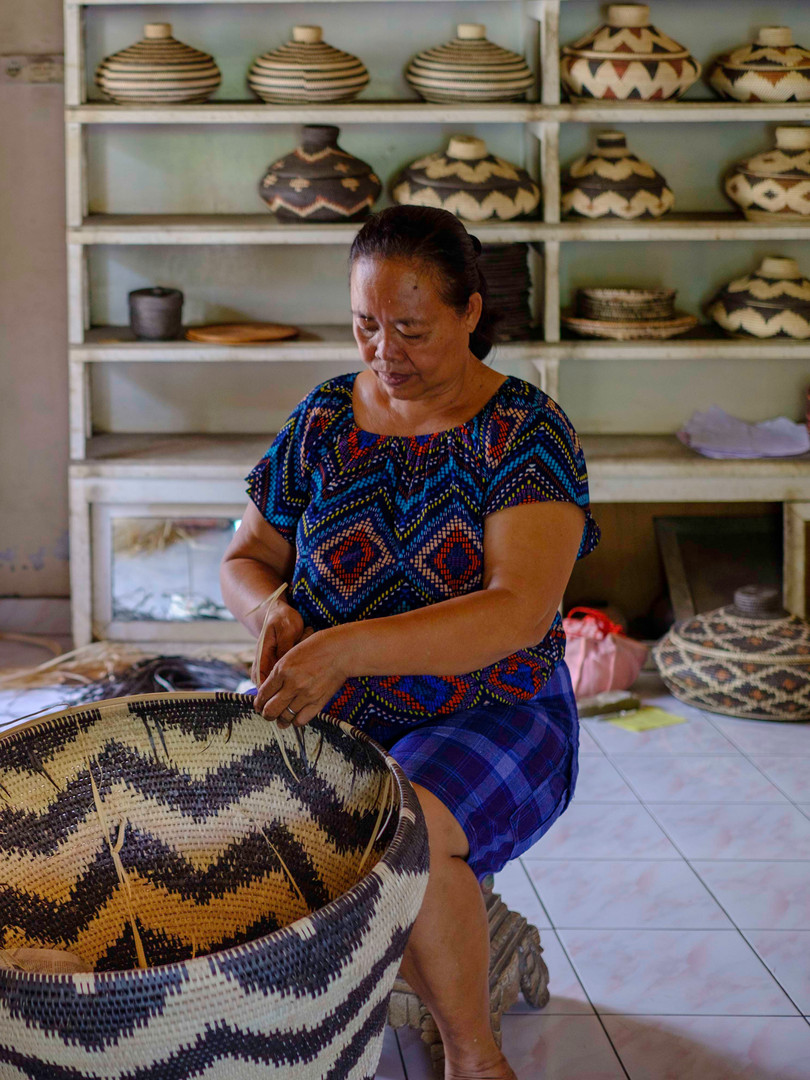Balinese village artisan