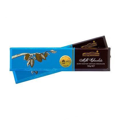 Milk Chocolate Bar with Hazelnuts & Cacao 160g