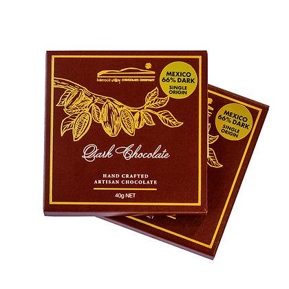 Single Origin Dark Chocolate Mexico 66% - 40g