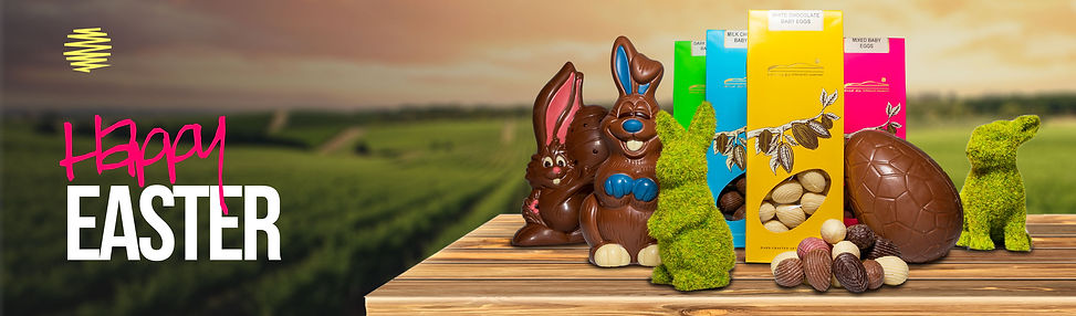 Happy Easter Heading Banner