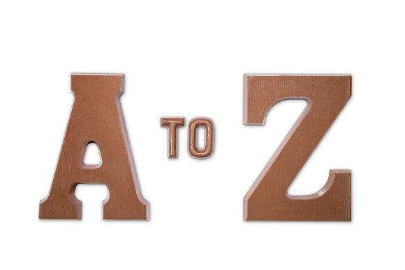 Chocolate Letter 125g (Milk or Dark)