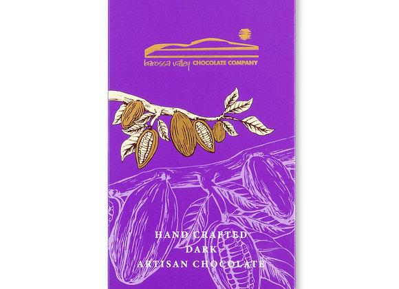 Dark Caramelised Almond & Vanilla Block 100g