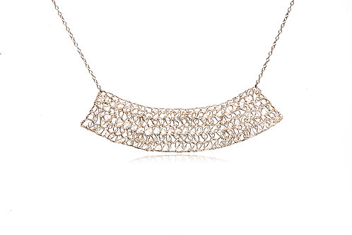 Mesh Moon necklace
