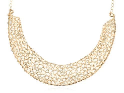 Half colar, total length necklace