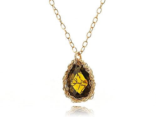 CZ pendant necklace