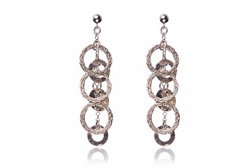 Mesh small circles earring