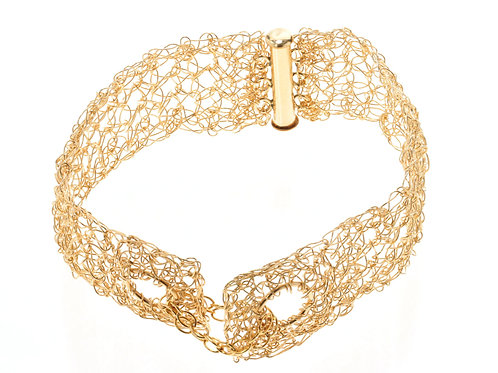 3 rows and chain bracelet