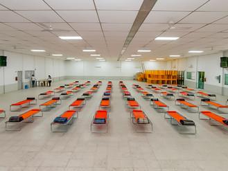 Autoridades de DIF supervisan protocolo de refugios temporales