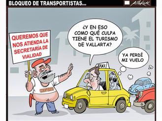 Bloqueo de Transportistas...