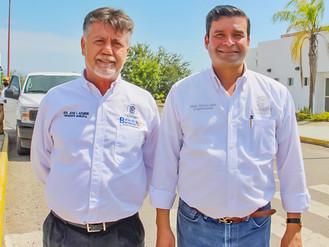 Agradece Bahía el Apoyo del Gobernador Echevarría