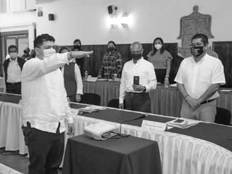 Jorge Quintero Alvarado Rinde Protesta Como Alcalde Interino