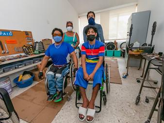 Apoyo integral a personas con discapacidad, otorga DIF