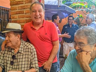 """FESTEJARON SU CUMPLEAÑOS OSCAR """"EL GORDO"""" PARRA Y JESÚS """"TAWA"""" GALLEGOS"""