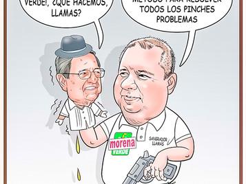 Alfaro y su Candidato ¡de Morena!