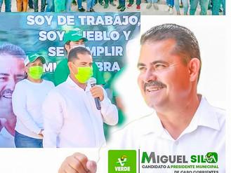 Miguelito Silva, el Favorito en Cabo Corrientes