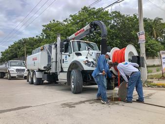 Nuevo Camión para desazolve al servicio de los bahíabanderenses