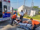 Mujer Herida en Brutal Choque