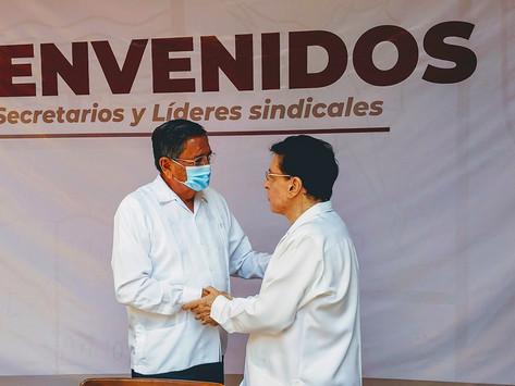 EL PROFE MICHEL Y RAFAEL YERENA PACTAN POR PUERTO VALLARTA