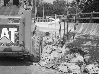 Realizan Perforaciones en Puente del Estero