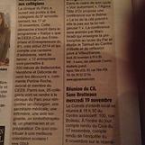 2014 - Le Progrès - Le Cee6 fait découvr