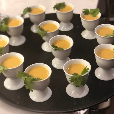 Lemongrass Soup Shooters