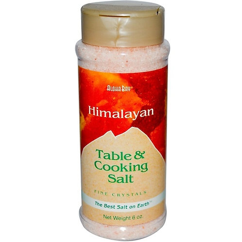 Aloha Bay Himalyan Salt Fine (6x6OZ )
