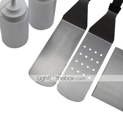 cheap BBQ Tool Set-Stainless Steel / Iron Cookware Sets Creative Kitchen Gadget